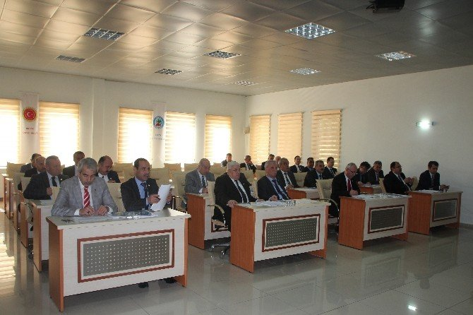 İl Genel Meclisi Mart Ayı Son Birleşimi Yapıldı