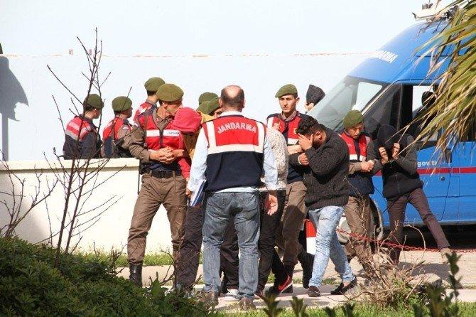 Milas'taki Uyuşturucu Operasyonuna 4 Tutuklama