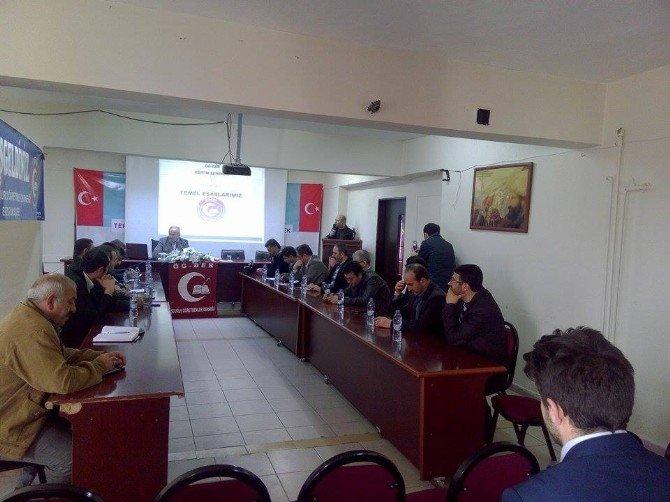 Öğ-der Bölge Toplantısı Erzurum'da Yapıldı