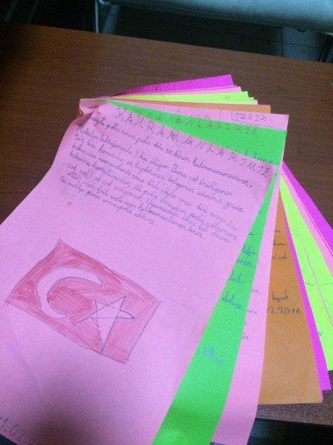 Minik Yüreklerden Duygulandıran Mektuplar