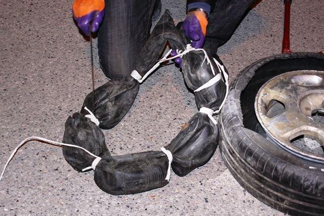 68 kilo uyuşturucu yakalandı