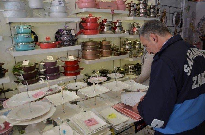 Safranbolu'da Zabıta Denetimleri Devam Ediyor