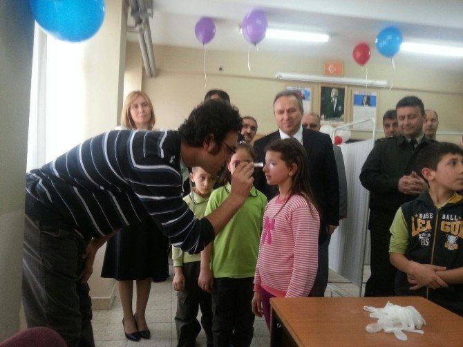 Düzce'de Okulda Sağlık Takibi Yapılacak