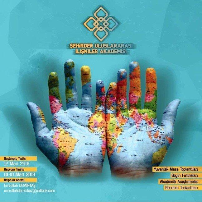 Şehirder Uluslararası İlişkiler Akademisi Başvuruları Başladı