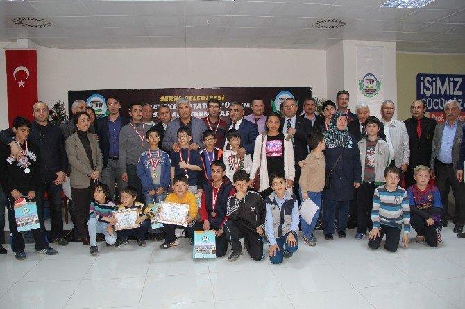 Atatürk'ün Serik'e Gelişi Anısına Satranç Turnuvası