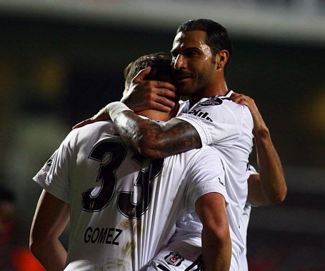 Beşiktaş, Eskişehirspor'u 3-1'le geçip lideri takibini sürdürdü