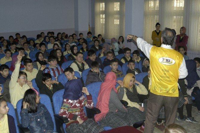 Temacılar, Öğrencilere Doğa Bilincini Anlattı
