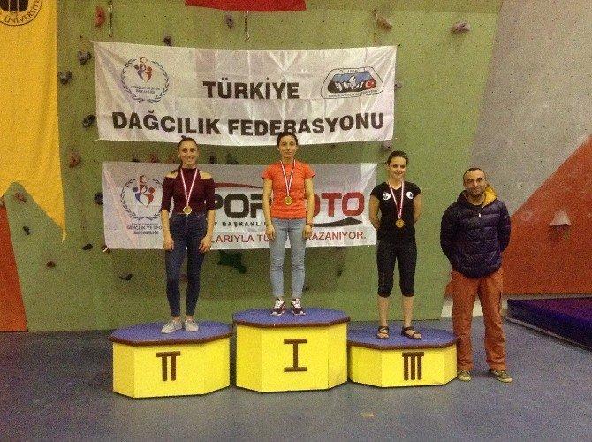 Tırmanış Şampiyonası'na Bursa Damgası