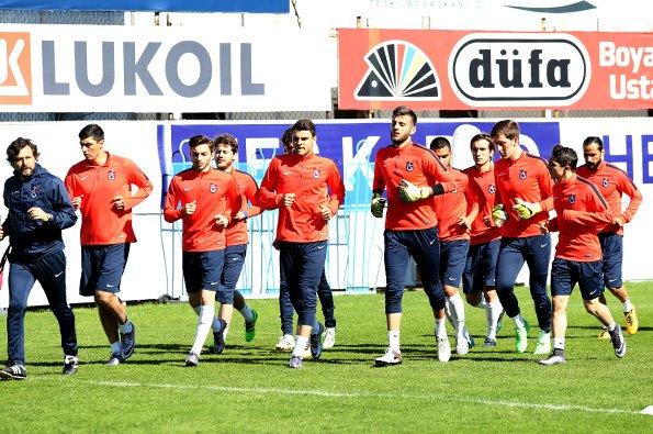 Trabzonspor çalışmalarına başladı