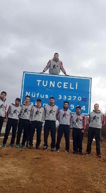 Üniversiteler Gençlikspor Tunceli'den Şen Döndü
