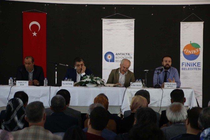 Yeni Türkiye Buluşmaları Finike'de Devam Etti