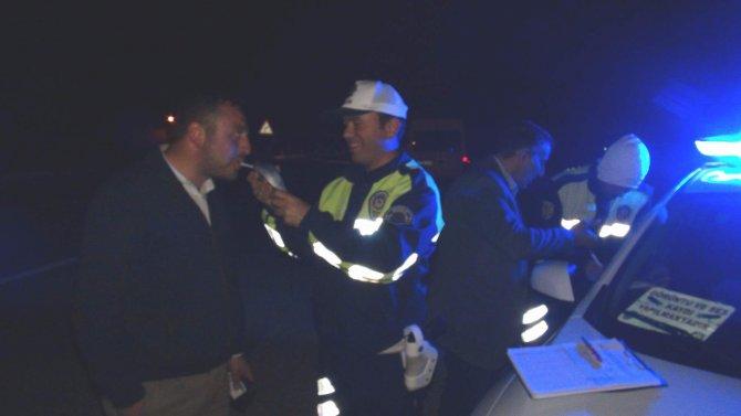 Yozgat'ta sürücülere alkol denetimi