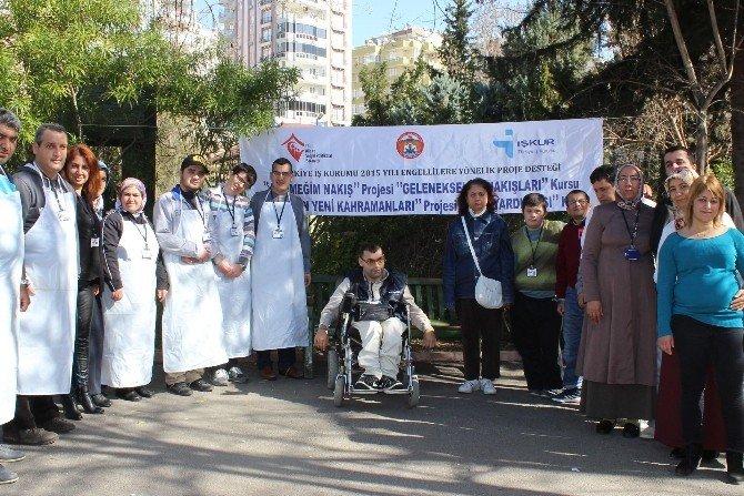 Aile Ve Sosyal Politikalar Müdürlüğü'nden Engellilere Yönelik Projeler