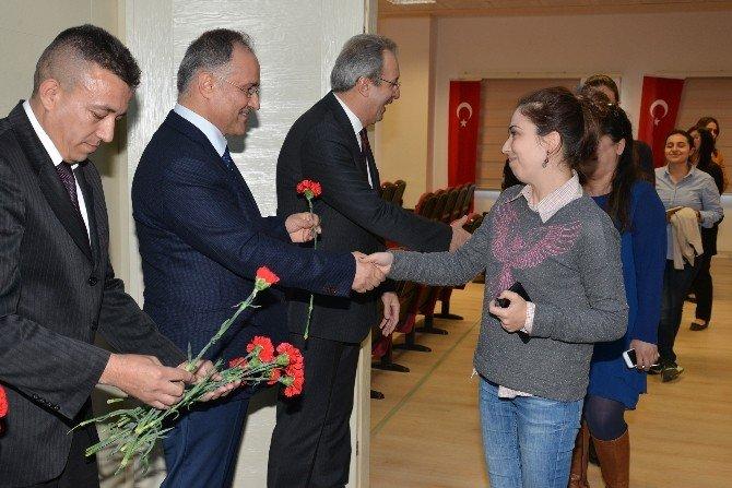 """Abtü Rektörü Prof.dr. Gül: """"Toplumu Eğiten Kadındır"""""""