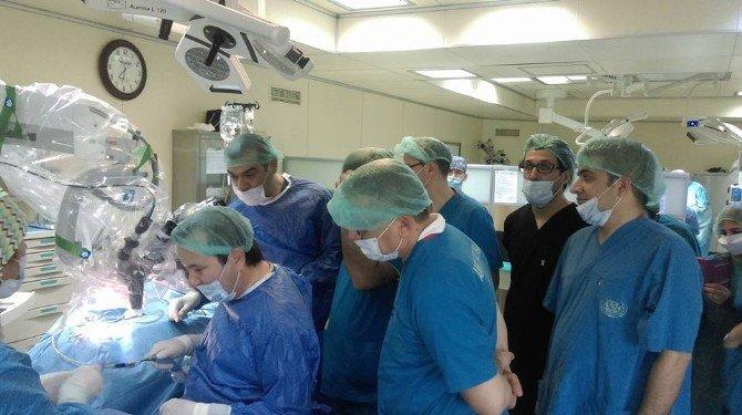 Adana'da İlk Biyonik Kulak Ameliyatı