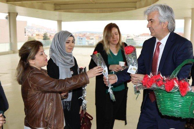 Akhisar Belediyesi'nde 8 Mart Dünya Kadınlar Günü