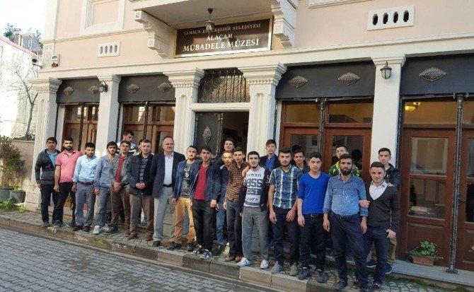 Alaçam Kur'an Kursu Öğrencilerinin Müze Ziyareti