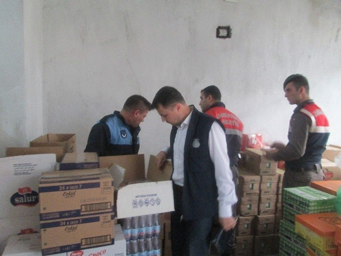 Alaşehir'de Kaçak Sigara Operasyonu