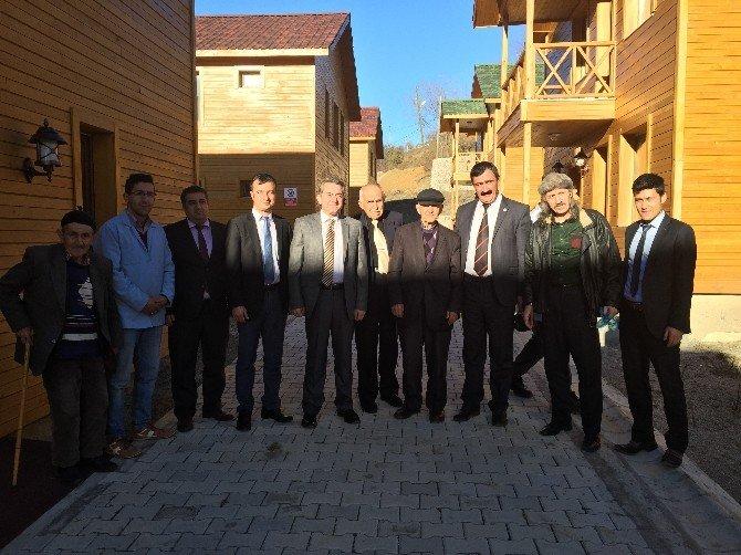 Türkiye'nin İlk Osmanlı Tipi Yaşlılar Yaşam Merkezi Hizmete Girdi