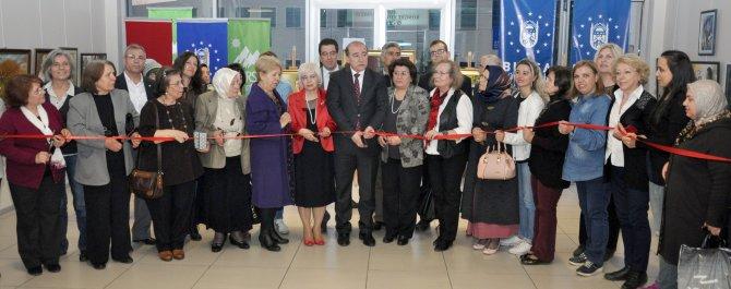 Bursa Kent Konseyi'nden kadınlara özel karma sergi
