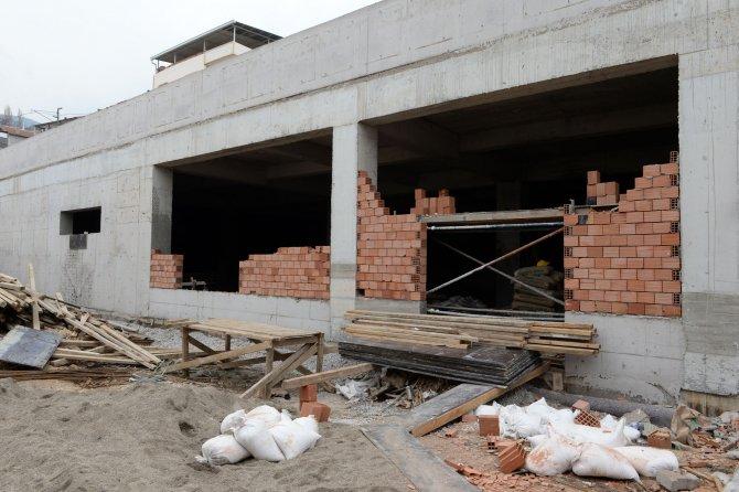 Mollafenari'ye Pazar alanı ve otopark yapılıyor