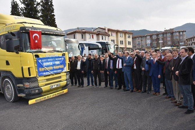 Bursa'dan İdil'e Kardeşlik Bağı