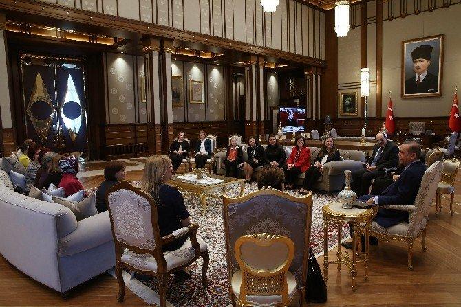 Kadın Rektörler Beştepe'de