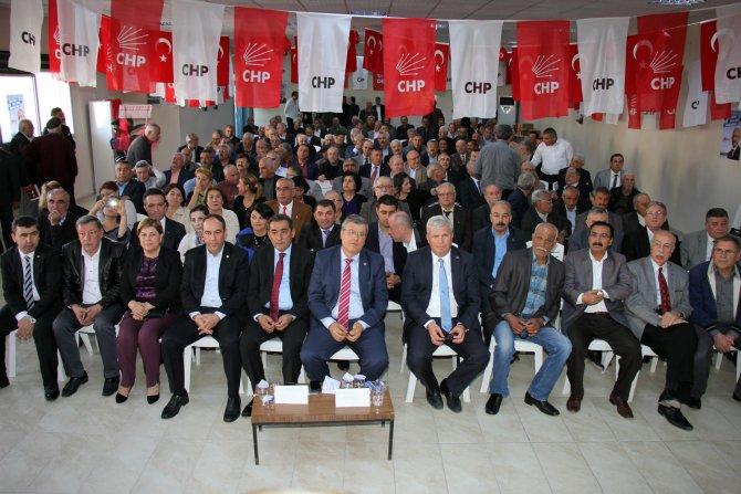 CHP Ceyhan ve Yumurtalık Danışma Kurulu Toplantısı yapıldı