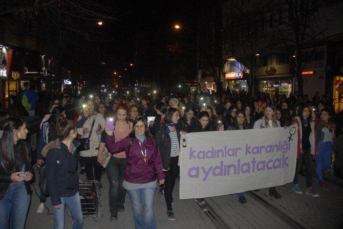 """Fenerli """"8 Mart Dünya Kadınlar Günü"""" Yürüyüşü"""