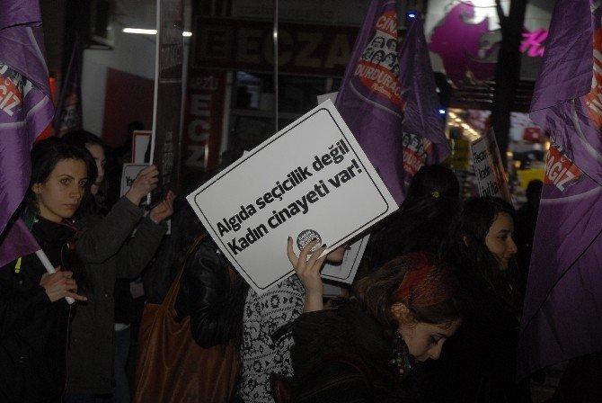 Kadın Cinayetlerine Tepki Yürüyüşü