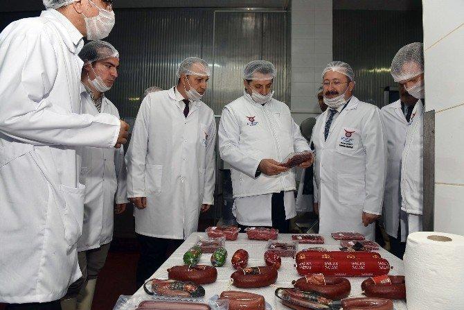 Bakan Çelik, Esk Sincan Kombina Müdürlüğü'nü Ziyaret Etti