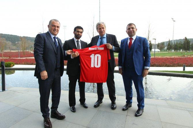 Katar 2022 Dünya Kupası heyeti TFF tesislerini ziyaret etti