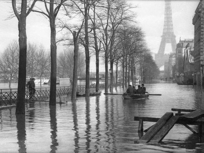 Paris sular altında!