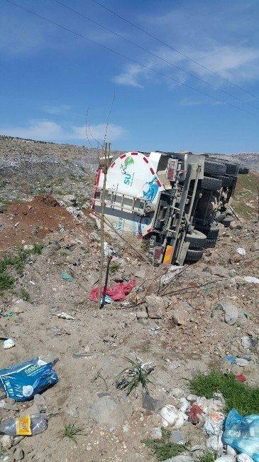Su Tankeri Kazası Korkuttu