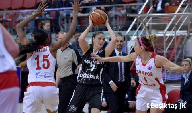 Beşiktaş'ı 79-68 mağlup eden AGÜ, bir adım öne geçti