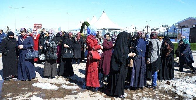 Erzurum'da 8 Mart Dünya Kadınlar Günü Etkinliği