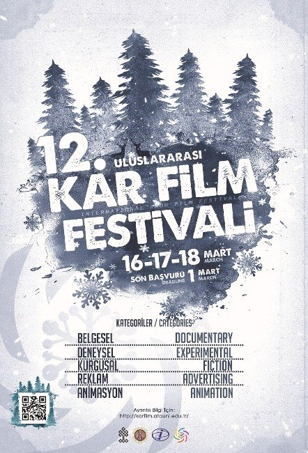 12. Uluslararası Kar Film Festivali Başlıyor