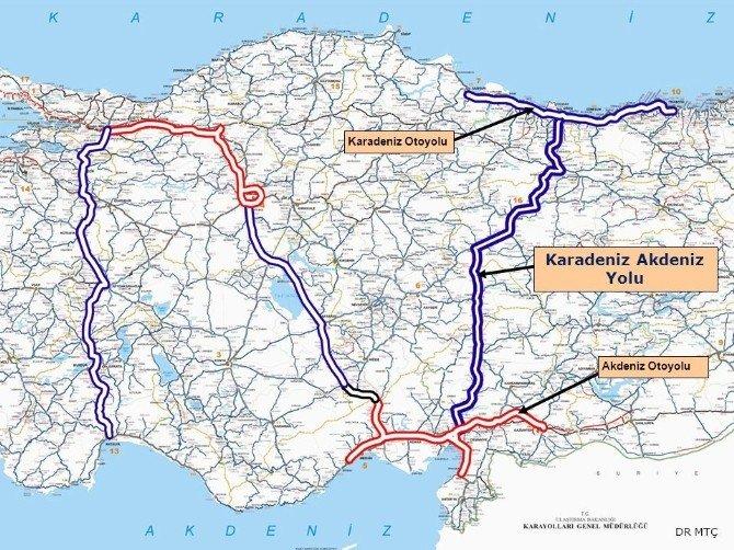 Asrın Projesi: Karadeniz-akdeniz Yolu