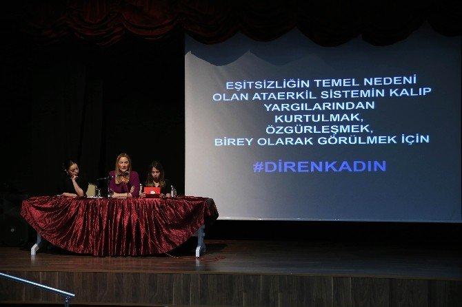 Karşıyaka'da Dolu Dolu 8 Mart
