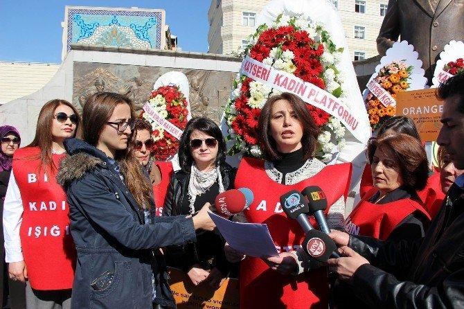 Kayseri Kadın Platformu'ndan 8 Mart Dünya Kadınlar Günü Etkinliği