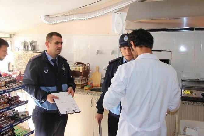 Kırklareli Belediyesi Zabıta Ekipleri Tarafından 2 Ayda 199 İş Yeri Denetlendi
