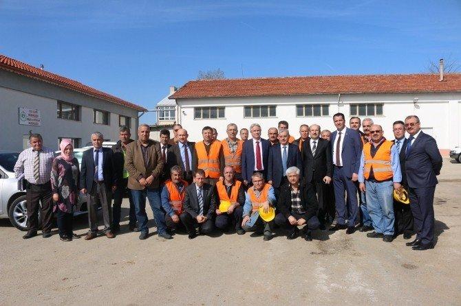 Türkiye Yol-iş Sendikası'ndan Teşekkür Plaketi