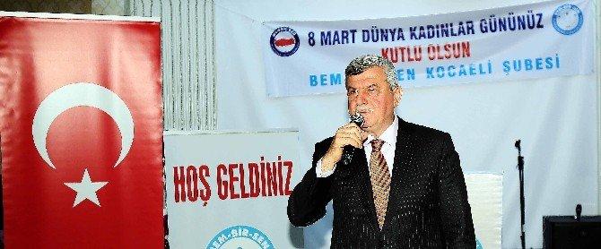 """Başkan Karaosmanoğlu, """"Kadınsız Medeniyet Kurulamaz''"""
