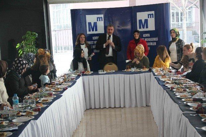 Konya Smmm Odası'nda Dünya Kadınlar Günü Kokteyli
