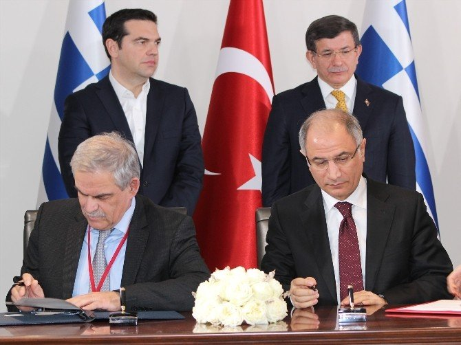 Davutloğlu-çipras Ortak Basın Toplantısı