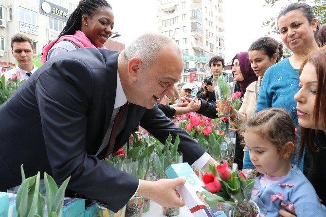 Başkan Ergün'den Kadınlara 8 Mart Jesti