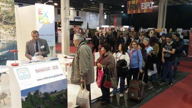 Budapeşte Turizm Fuarı'nda Manavgat'a Yoğun İlgi