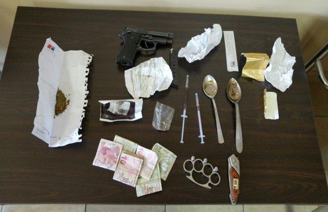 Tarsus'ta uyuşturucu operasyonu