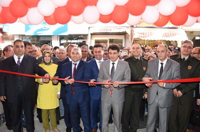 Tarsus'ta tarihi Siptilli Çarşısı açıldı