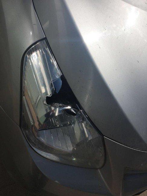 İşyeri Ve Otomobil Kurşunlandı
